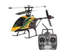 """18"""" R/C 4Ch Large LED Metal Remote Control Helicopter w/ Gyro LCD Screen NW Fast"""