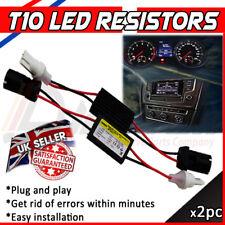 2 LED T10 501 ERROR CANCELLERS LOAD RESISTORS SIDE LIGHTS NO ERROR