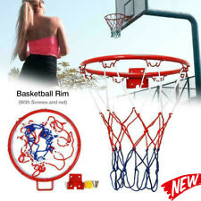 32cm Basketball Ring Hoop Net Wall Mounted Outdoor Hanging Basket Professional