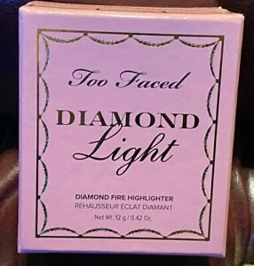 Two Faced Diamond Light Diamond Fire Highlighter Brand New Boxed