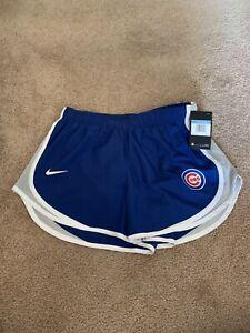 Brand New Chicago Cubs 2020 MLB Nike Tempo Women's Size Medium Shorts