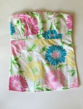 NEW LILY PULITZER Pink Yellow Blue Floral Strapless Tube Top Corset Sz 0