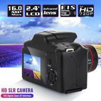 Digital HD SLR Camera 2.4 Inch TFT LCD Screen 1080P 16X Zoom Anti-shake
