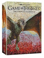 GAME OF THRONES: Seasons 1-6 (DVD, 2016) Season 1 2 3 4 5 6 Complete Set