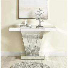 MIRRORED MODERN LIVING DINING ROOM OFFICE CONSOLE ART DECO ENTRY HALLWAY TABLE