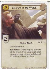 3 x Steward of the Watch AGoT LCG 1.0 Game of Thrones A King in the North 94