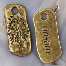"""29x12x2mm 'Tree of Life dream"""" Charms Findings 2pcs Gold Silver Copper Bronze"""