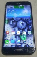 LG Optimus G Pro E980 (AT&T) 32GB Black - WATER STAINS ON LCD - FULL FUNCTIONS