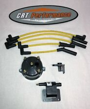 JEEP YJ XJ 2.5L 4CYL IGNITION TUNE UP UPGRADE KIT YELLOW Wrangler Cherokee 91-93