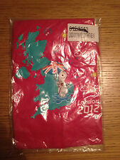 OFFICIAL LONDON 2012 WENLOCK Adidas PINK T-SHIRTS 4-5 YRS 100% COTTON