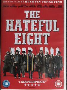 The Hateful Eight (DVD, 2016) Quentin Tarantino, Kurt Russell, Walter Goggins
