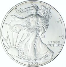 Better Date 2003 American Silver Eagle 1 Troy Oz .999 Fine Silver *413