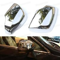 2pcs Chrome Rearview Side Mirror Cover Trim Fit for Subaru Outback 2015