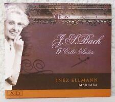 Bach 6 Cello Suiten INEZ ELLMANN - Marimba     2 CDs
