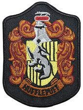 Larger Hufflepuff Hogwarts' House Shield Harry Potter Iron On Applique Patch