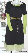 Noa Noa Kleid dress Basic Viskose black schwarz Viscose Neu kjole