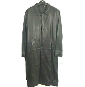 NWT Saxony Collection Size 44 Men's Leather Insulated Coat A19391