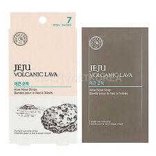 [THE FACE SHOP] Jeju Volcanic Lava Aloe Nose Strips / Hard type nose pack