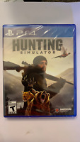 Hunting Simulator - Sony PlayStation 4 - PS4 - BRAND NEW! FACTORY SEALED!