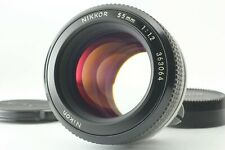 [Exc+5] Nikon Non AI Nikkor 55mm f1.2 MF Prime Lens from Japan #371