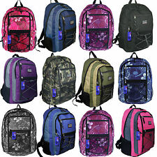 Big Backpack Rucksack Bag Mens Ladies Girls A4 Travel School Hand Luggage Large