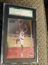 1998-99 Topps Finest Larry Hughes #233 Rookie SGC Graded Mint 9