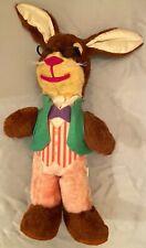 Vintage Gund Uncle Wiggily Stuffed Animal (1969) by Mabel R. Garis