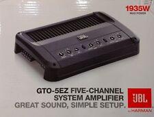 JBL GTO-5EZ 1935 Watts 5-Channel Car Amplifier