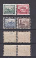GERMAN REICH 1930 Exhibition IPOSTA  Mint * - (Mi.446-449)
