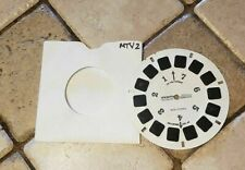 MTV 2 - 24 More Hours of Music Advert Promo Demo view-master reel Memorabilia
