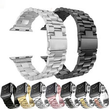 For Apple iWatch Series 5/4/3/2/6 Stainless Steel Wrist Strap Watch Band 38-44mm