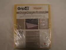 Grip-it Rug Stop Natural 6 Foot Round Keeps Area Rugs in Place New