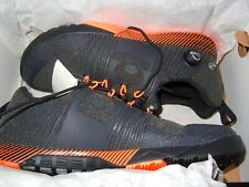 "Reebok ""the pump"" UK  size 7.5 BNWT boxed Black / Orange Rare"