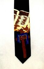 Bible and Cross Multi Color, Religious Tie