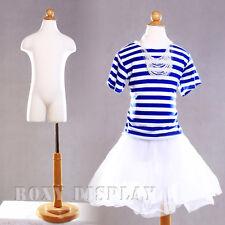 Children Jersey Form Mannequin Child/Children Body Form w/Leg #11C4T