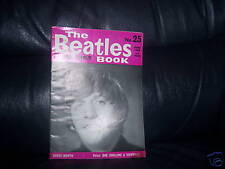 ORIGINAL 1965 - The Beatles Monthly Book No 25 LOVELY CONDITION 49 YEARS OF AGE