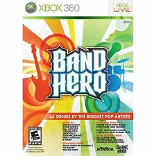 BRAND NEW Xbox 360 Band Hero Guitar Rock Game SEALED
