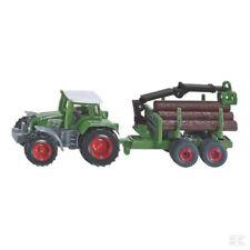SIKU Fendt With Log Trailer Super Scale Model Toy Gift