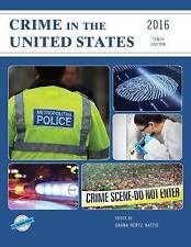Crime in the United States 2016 (U.S. DataBook Series)-ExLibrary