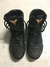 NIKE Kobe Elite EXT QS Black Gold Metallic Sz. US9.5 NEW