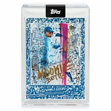 Mookie Betts 2020 Topps X Gregory Siff Card WORLD SERIES -Free Shipping!