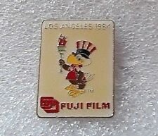 "1984 Los Angeles Olympic Games ""Fuji Film Sam the Eagle Torch"" Pin"