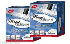 MAGIC STEEL FALMEC 2 SCATOLE salviette per pulizia acciaio  ì