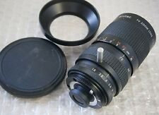 Ernitec TV Zoom Lens 1:1.8 / 12.5 - 75 with Lens Cap and Lens Hood