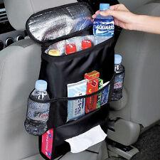 Car Back Seat Cooler Insulated Storage Bag Tidy Organizer Tissue Kids Holder
