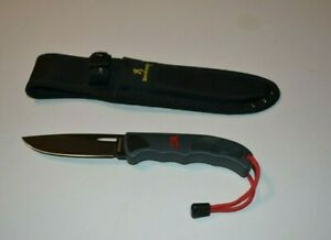 Browning ITALY Model 7400 Hunting Knife with sheath