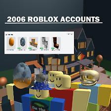 ROBLOX 2006 ACCOUNT (RANDOM) *READ DESCRIPTION*