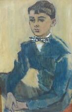 Alexandre Garbell (1903-1970) Portrait de jeune homme (v)