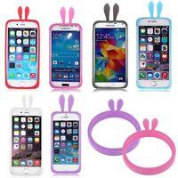 Brillan En La Oscuridad Universal Pulsera Bumper Gel Funda Para iPhone Samsung