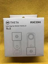 Ricoh Lens Cap TL-2 For THETA Z1 360° Camera Compact Dedicated Design Black